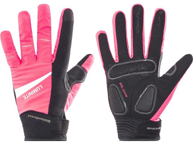 Endura Luminite Gloves Women, neon pink